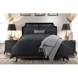 1200 thread count quilt cover black
