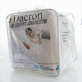 Dacron Quilt King Bed