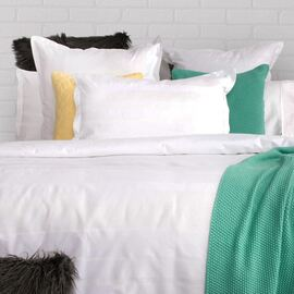 Oxford White Waffle Quilt Cover Set