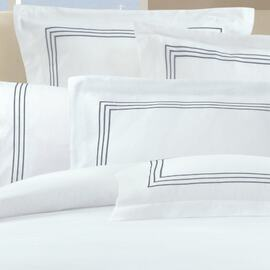 1000 Thread Count Silver Oblong Cushion