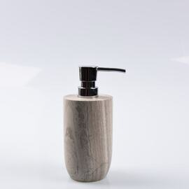 Marble Grey Stone Toilet Brush Holder
