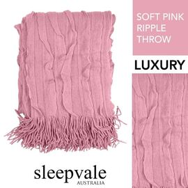 Ripple Throw Soft Pink