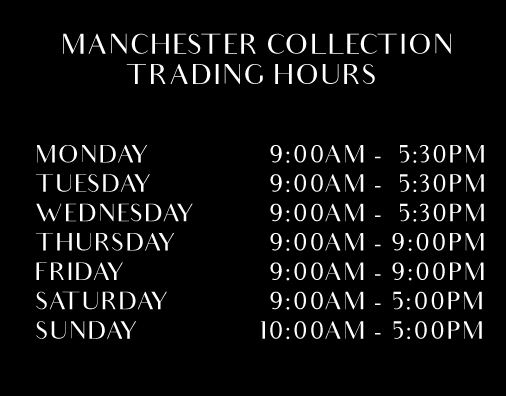 manchester collection broadmeadows trading hours