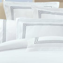 1000 Thread Count Silver Standard Pillowcase (PAIR)