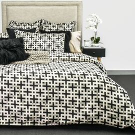 Abelle Black Quilt Cover Set