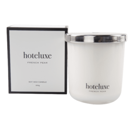 Hoteluxe Soy Wax Candle 370g French Pear