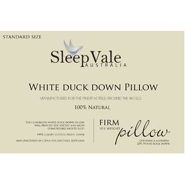 Duck Down pillow Firm