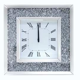 Mirrored Wall Clock 5085