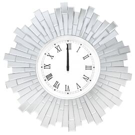 Mirrored Wall Clock 5297