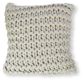 Meridian Chunky Square Cushion Beige