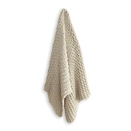 Meridian Chunky Throw Beige