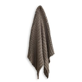 Meridian Chunky Throw Mocha
