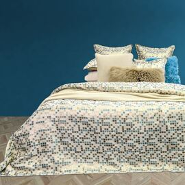 Ramond Aqua Quilt Cover Set