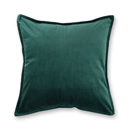 Velvet European Pillowcase Emerald