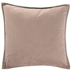Velvet European Pillowcase Mocha