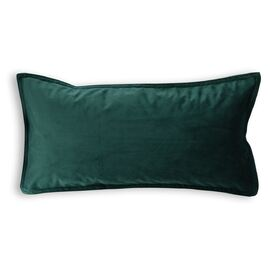Velvet Cushion Oblong Emerald