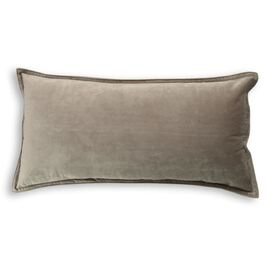 Velvet Cushion Oblong Mocha