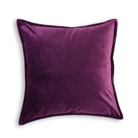 Velvet Cushion Square Purple