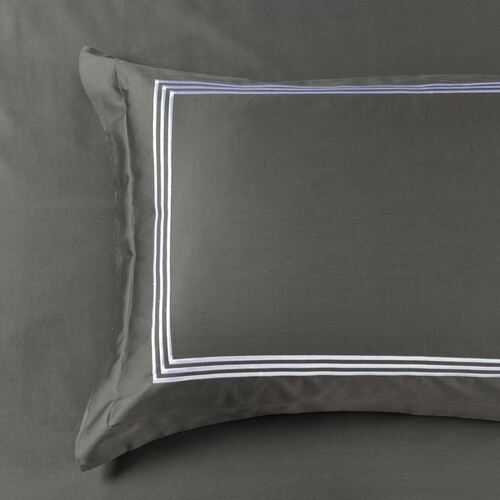 1000 Thread Count Charcoal King Size Pillowcase
