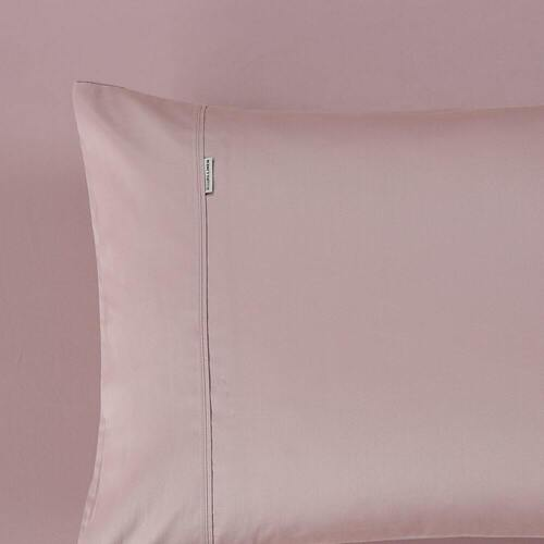 400 Thread Count Fitted Sheet Blush Mega King Bed