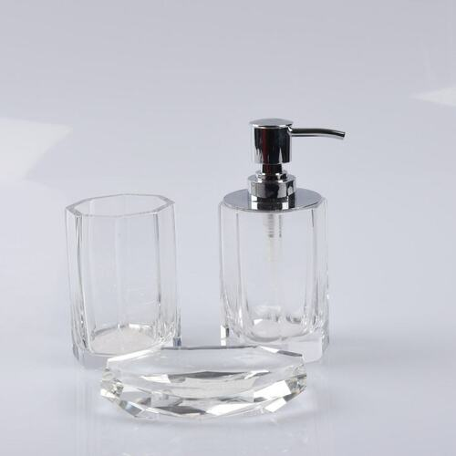 Glass Bathroom Lotion Dispenser