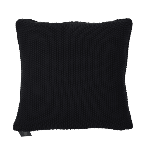 Seedstitich Cushion Black