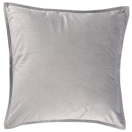 Velvet Cushion Square Silver