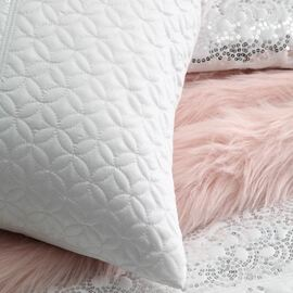 Palais White Quilt Cover Set Super King Bed