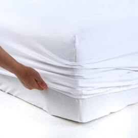 400 Thread Count Sheet set White King Bed