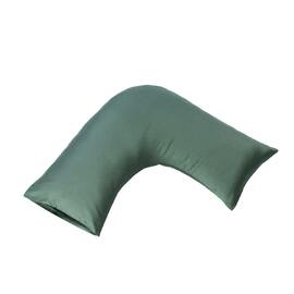 400 Thread Count U-Pillow Case Teal