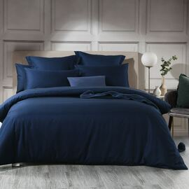 1000TC Quilt Cover Set Navy