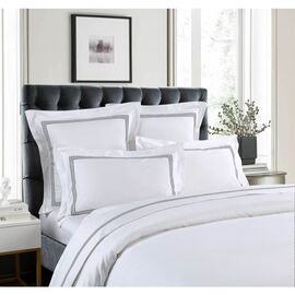 1000 Thread Count Sheet Set Silver [SIZE: Mega King Bed]