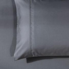 1000 Thread Count King Size Pillowcase Charcoal