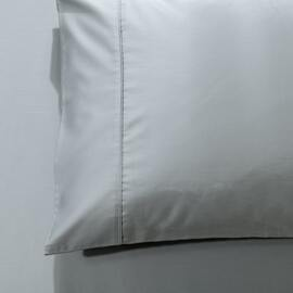 1000 Thread Count King Size Pillowcase Silver