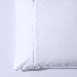 1000 Thread Count King Size Pillowcase White