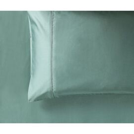 1000 Thread Count Standard Pillowcase Pair Forest Green