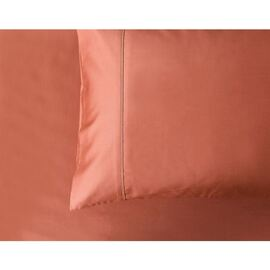 1000 Thread Count Standard Pillowcase Pair Rust