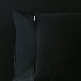 400 Thread Count Fitted Sheet Black