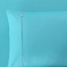 400 Thread Count Fitted Sheet Teal