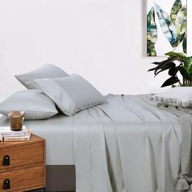 400 Thread Count Mega Queen Bed Sheet set Silver