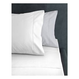 500 Thread Count Sheet Set White King Bed
