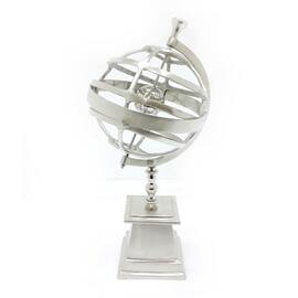 Sculpture Decor Globe NHD264 10""