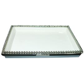 Ceramic Rectangle Tray (34cm x 25cm x 5cm)