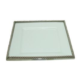 Ceramic Square Plate 30cm SQ x 4cm Height
