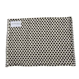 Jude Basket Weave Placemat Black