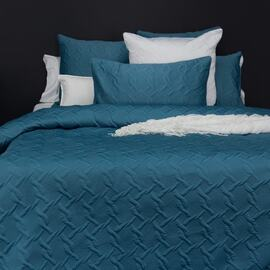 Aiden Quilt Cover Set Teal