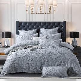 Amari Grey Quilt Cover Set
