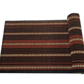Amata Bamboo Runner & Placemat Burgundy