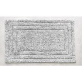 Cotton Bath Mat Silver