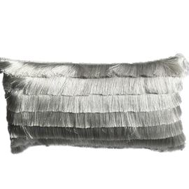 Belmont Cushion Oblong Silver